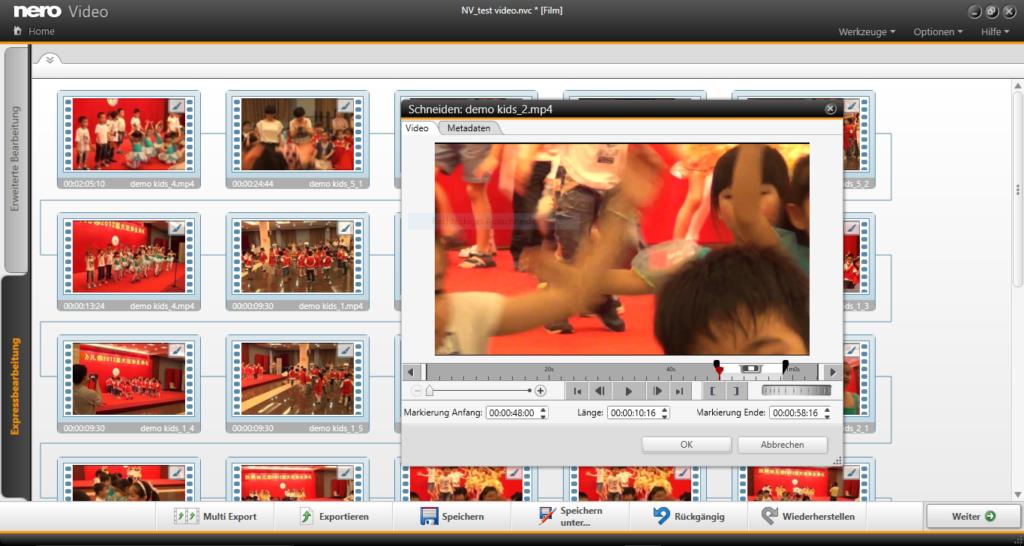NV Multi Storyboard full screen DE