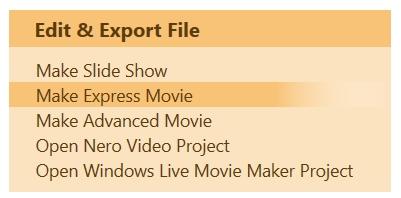 Express Editing
