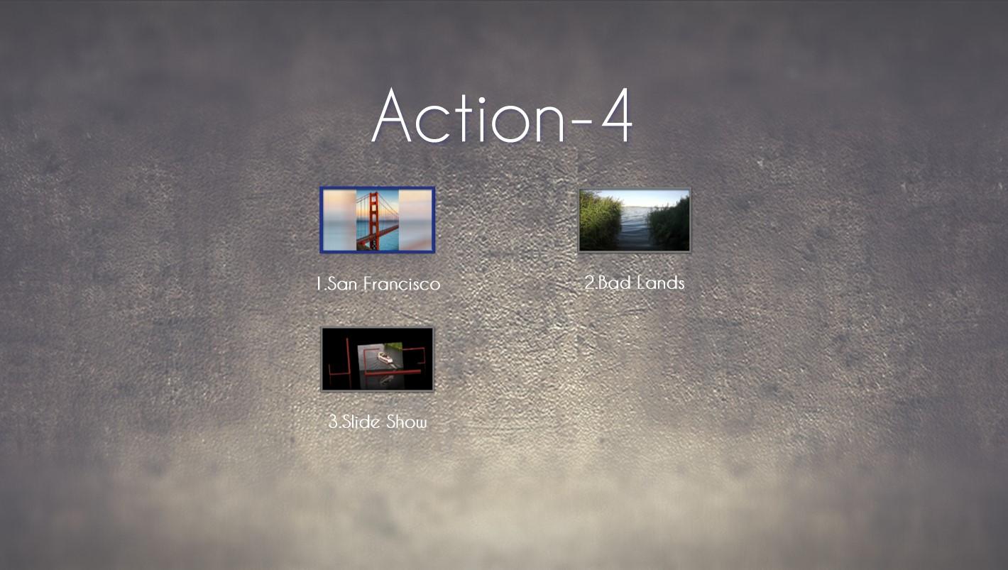 Action 4 Menu