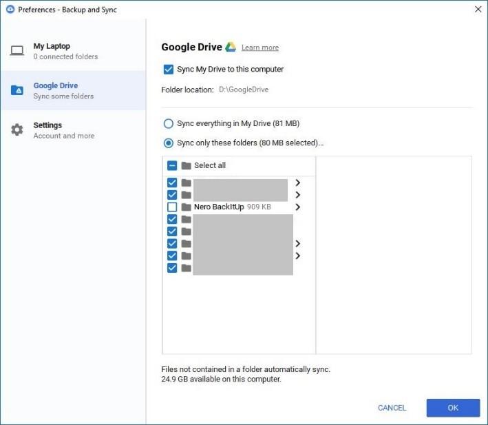 Google Drive – Nero FAQ