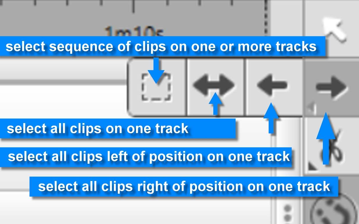 2. select track tool