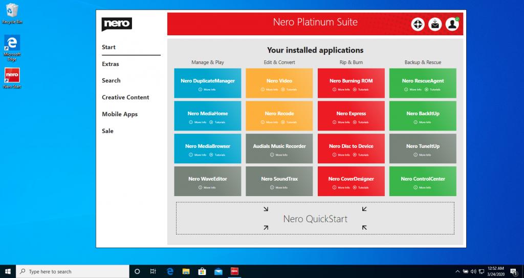 9_Successfully upgrade to Nero Platinum 365