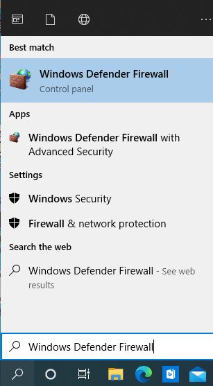 Firewall Blocks