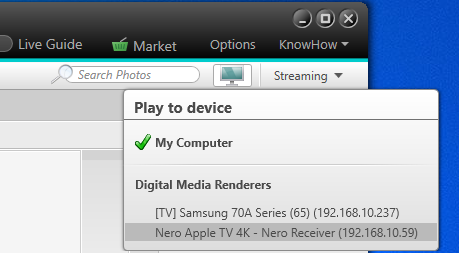 NMH-Receiver Apple TV